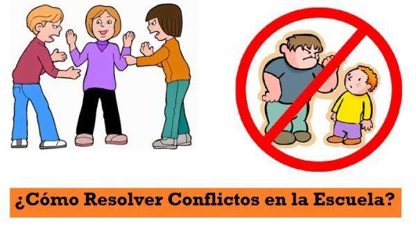Como Resolver Conflictos en la Escuela
