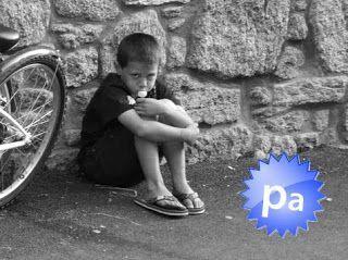 niño deprimido
