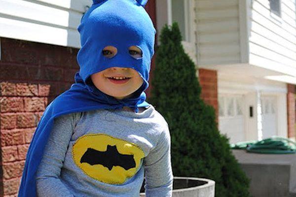 Los Niños Y Los Superhéroes