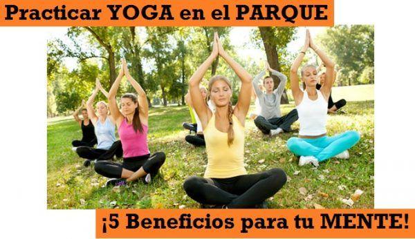 Beneficios Practicar Yoga al Aire Libre