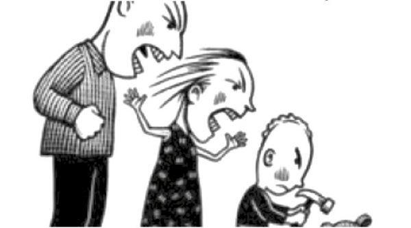 Enfados en la familia