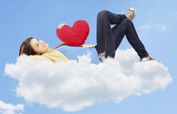 Estar locamente enamorada