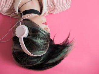 Relajarse con música